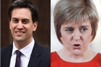 Sturgeon offers Miliband deal to lock out the Tories, warning he will never be forgiven if he refuses | My Scotland | Scoop.it