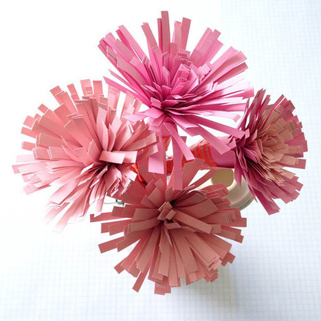 How to Make Goregous Paper Flower Bouquets | Eye Spy DIY | Scoop.it