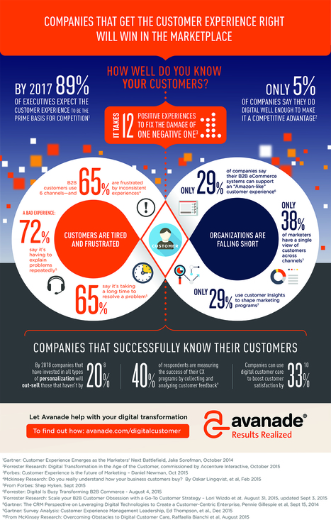 What's Wrong With Customer Experience? (Infographic) | FUTURE MARKETING | Scoop.it