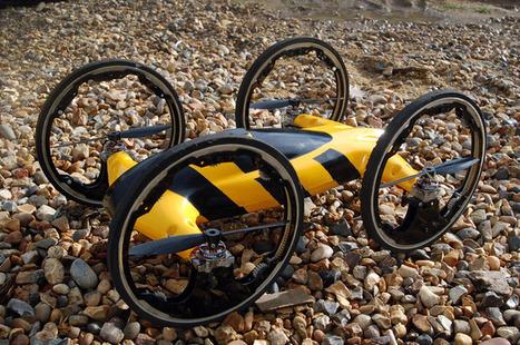How about a remote control car that's also a quadrocopter? | Modélisme | Scoop.it