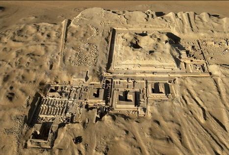 Curso a distancia: Arqueología de Egipto. La necrópolis de Saqqara (Sur) | Centro de Estudios Artísticos Elba | Scoop.it