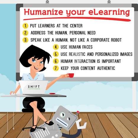How to Humanize eLearning | Infographic | elearning stuff | Scoop.it