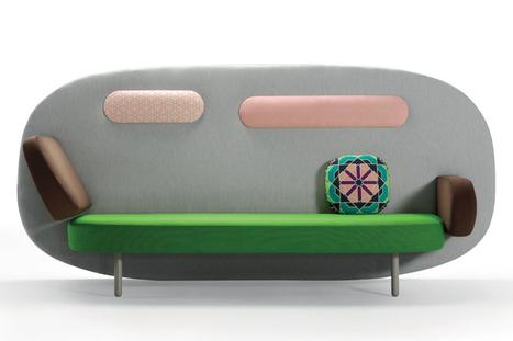SANCAL Float Sofa Design by Karim Rashid   Contemporary Design Ideas   Scoop.it