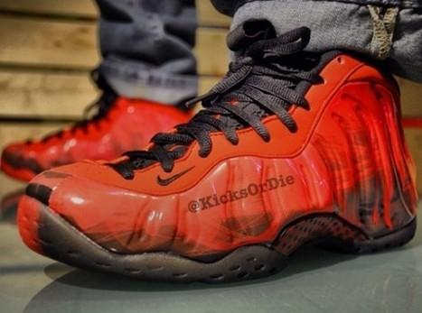 Nike Air Foamposite One 'Doernbecher' 2013 On Feet Look | Sneakers | Scoop.it