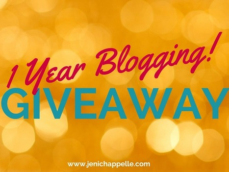 1 Year Blogging + Win a 50-Page Critique - Jeni Chappelle | Writer's Life | Scoop.it