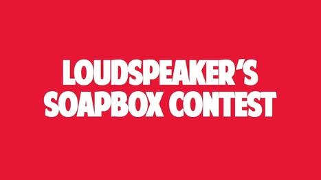 The Soapbox Series Contest   Persuasive Speech Resources   Scoop.it
