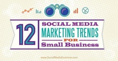 12 Social Media Marketing Trends for Small Business | Small Business Marketing & PR | Scoop.it