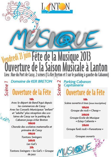 Lanton - Fête de la Musique | Le Bassin d'Arcachon | Scoop.it