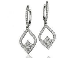 JE004 1.0 Carat Diamond Earrings | Bespoke Diamonds | Engagement Rings Dublin | Scoop.it