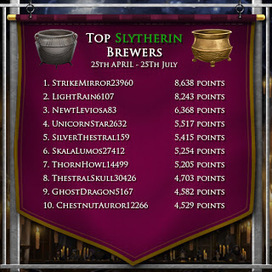 Pottermore Insider: Slytherin's finest potion-makers | Pottermore | Scoop.it