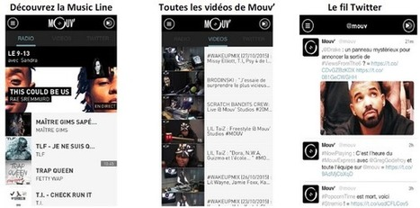 Nouvelle application mobile pour Mouv' - Offremedia | Radio 2.0 (En & Fr) | Scoop.it