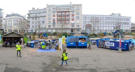 Une déchèterie place Wilson, éphémère mais efficace ! | Brest et Brest métropole : portail de veille de l'ADEUPa | Scoop.it