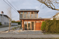 Net-zero solar laneway house by Lanefab Design/Build | Passive House + Net Zero Energy Homes | Scoop.it