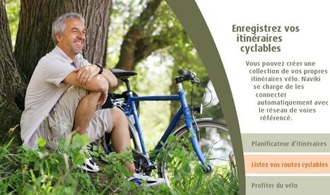 """Naviki, le navigateur pour les cyclistes   """"green business""""   Scoop.it"""