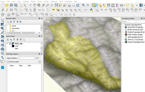 How to create mountain ranges in QGIS? - Digital Geography | Everything is related to everything else | Scoop.it