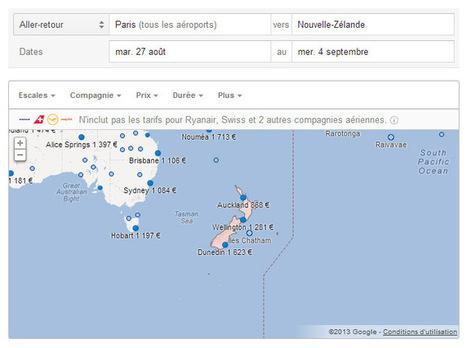 Comparateur de vol : Google Flight Search. ..en arrendant Google Airlines. Voyage à 100% virtuel!   Nothin' but Net   Scoop.it