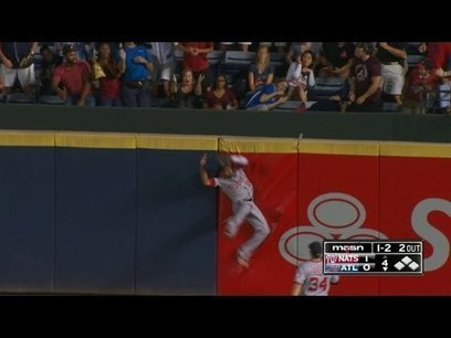 DailyRotoHelp Blog :: [Video] Nationals' Ben Revere with the Play of The Year | dailyfantasysports | Scoop.it