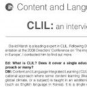 CLIL: An interview with Professor David Marsh « IH Journal | Scoop.it BEP | Scoop.it