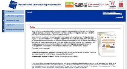 Adwiser: Nouvelle plateforme sur le Marketing Responsable   Chuchoteuse d'Alternatives   Scoop.it