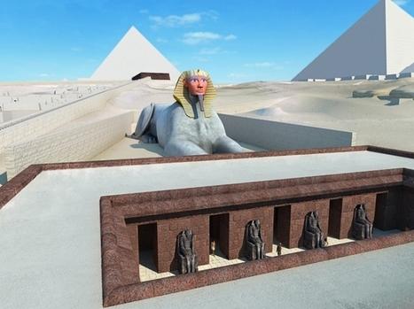 La visite 3D en ligne du plateau de Gizeh s'enrichit de nouveaux contenus | Education & Numérique | Scoop.it