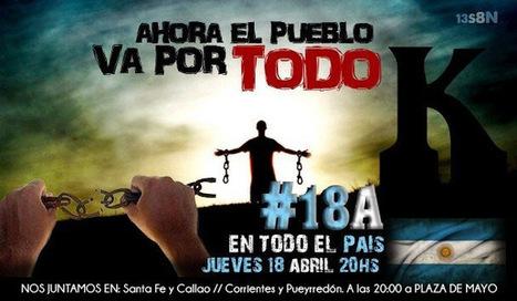 Cacerolazo #18A | www.inquietamente.com.ar | Flyers del #18A | Scoop.it