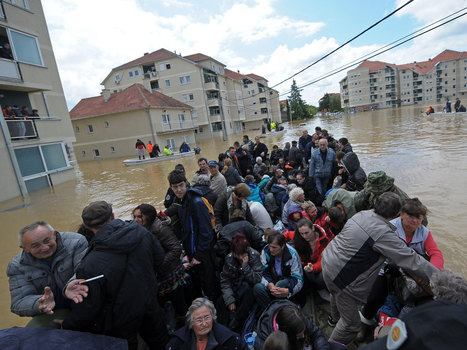 Bosnian floods: Floods lead to landmine fears as water covers a third of the country | Balkanesque | Scoop.it