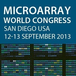Microarray World Congress 2013   Events   Scoop.it