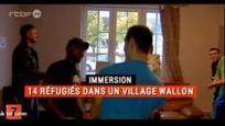 7 à la Une en immersion : 14 réfugiés dans un village wallon du 10 octobre 2015, 7 à la Une : RTBF Vidéo | Humaniser pour déconstruire les préjugés | Scoop.it