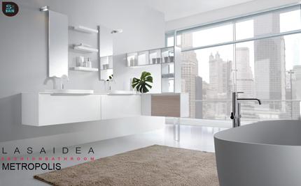 Collection de meubles de salle de bain Metropolis - LASA IDEA | Design de la salle bain | Scoop.it
