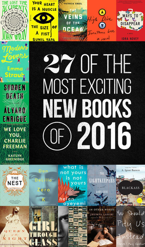 The 27 Most Exciting Books Coming In 2016   Beyond the Stacks   Scoop.it
