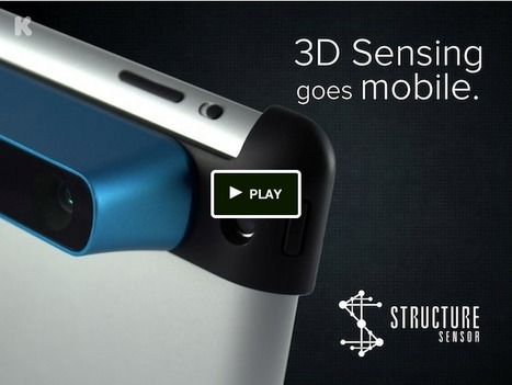 This Amazing Accessory TURNS Your iPad Into a 3-D Scanner | Machines Pensantes | Scoop.it