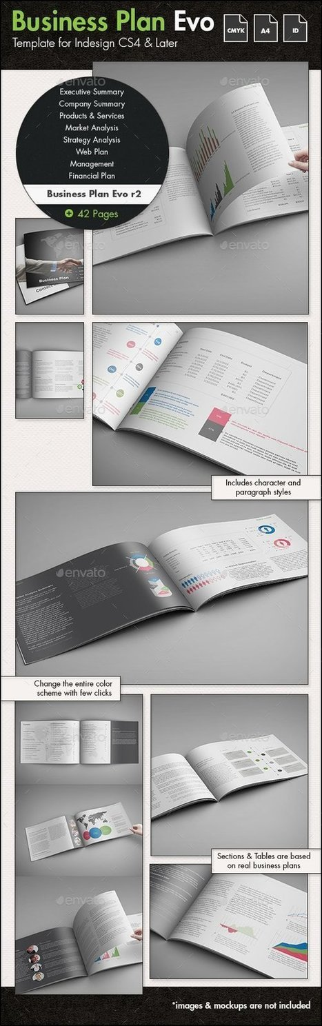 Business Plan Evolved r2 - A4 Landscape Template | About Design | Scoop.it