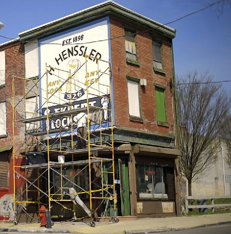 Painters brush new life into Philadelphia 'ghost signs' - Pittsburgh Post Gazette | Giving Some Love to the City | Scoop.it