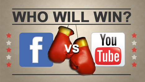YouTube doit-il craindre Facebook ? | Fuel for digital strategic marketers | Scoop.it