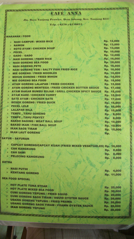 Indonesian Food Cheat-Sheet: Tips & Translations For First-Timers - HoliDaze Blog   indonesian food   Scoop.it