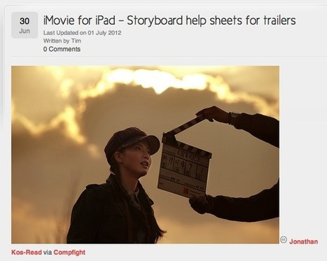 Apps in Education: iMovie Trailer Storyboards - T.I.M. | iPads in Education Daily | Scoop.it