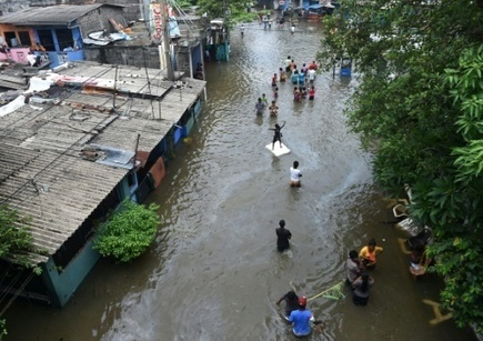 #SriLanka: 200.000 habitants de #Colombo fuient la capitale #inondée | RSE et Développement Durable | Scoop.it