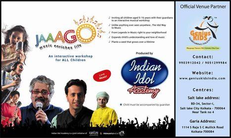 Geniuskids distribute free tickets Indian Idol Academy | Kids Creche in Kolkata | Scoop.it