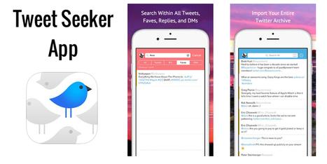 La gran biblioteca de Twitter: Tweet Seeker - ActualAPP | TICs y educación | Scoop.it