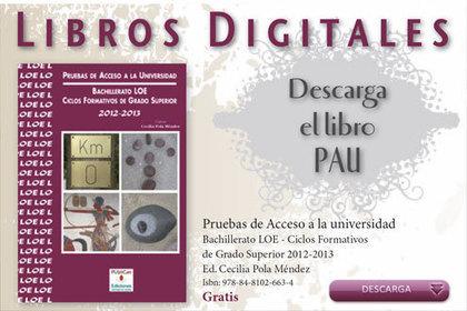 Just English: LIBRO DIGITAL CON LAS PAU 2012- 2º BACHILLERATO   ICT-TIC   Scoop.it
