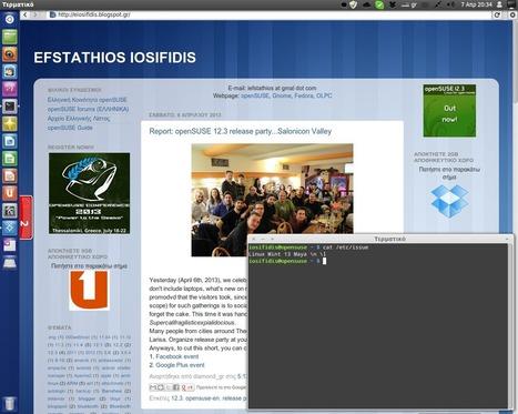 EFSTATHIOS IOSIFIDIS: Ποιά είναι η καλύτερη διανομή για νέο χρήστη; | FOSS in Greece | Scoop.it
