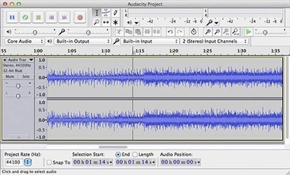Friday Favorite: Audacity 2.0 delivers free audio editing for Mac | K12 TechApps | Scoop.it
