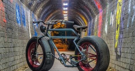 Bicicleta com pneus de carro | Heron | Scoop.it