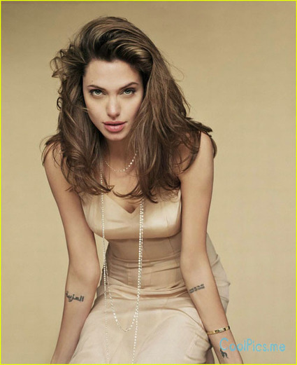 Angelina Jolie   CoolPics.me   HD Funny Love Wallpapers Murals Pictures   Wallpapers   Scoop.it