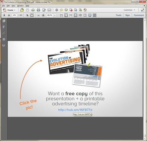 How to Create Clickable Links in SlideShare Presentations [Quick Tip] | Time to Learn | Scoop.it