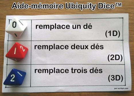 Aide-mémoire Ubiquity Dice™ | Jeux de Rôle | Scoop.it