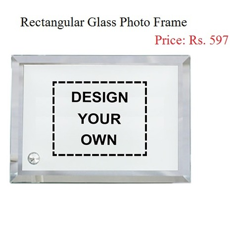 Buy Custom Rectangular Glass Photo Frame Online in India - Photohaat | Amazing designs for amazing customized gifts | Scoop.it