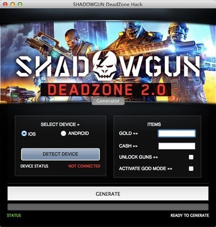 Shadowgun: Deadzone Hack tool - unlimited gold and cash hack | Sports Prediction | Scoop.it