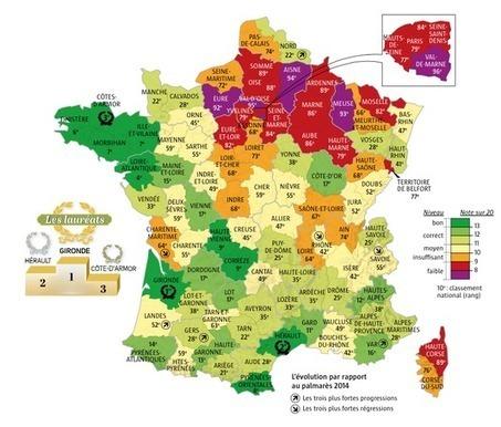 Quel est le département le plus écologique de France ? | Sur les chemins de la transition - Voyage en Hétérotopies | Scoop.it