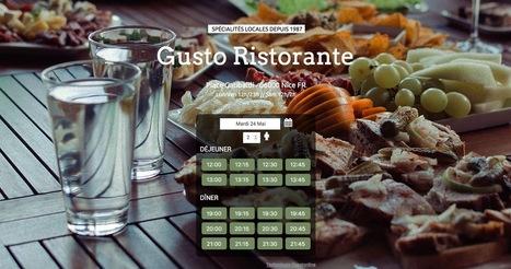 Le site de votre restaurant avec réservation en ligne | iPaoo | Scoop.it